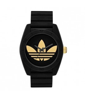 Adidas ADH2912 Santiago Black Silicone Analog Quartz Watch