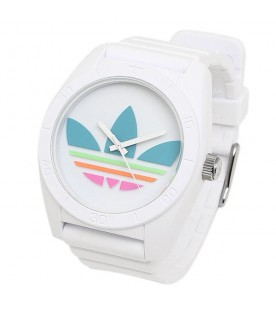 Adidas ADH2916 Santiago White Silicone Analog Quartz Watch