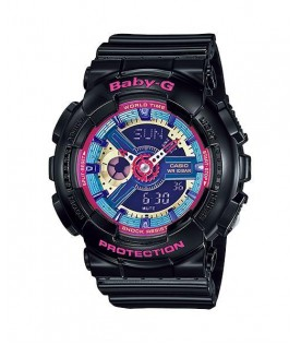 [Original] Casio BA-112-1A G-Shock WomenResin Strap Colorful Fashion Analog Digital Watch