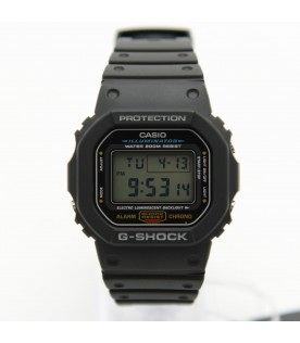 [Original] Casio DW-5600E-1V G-Shock MenBlack Resin Strap Digital Illuminator Watch
