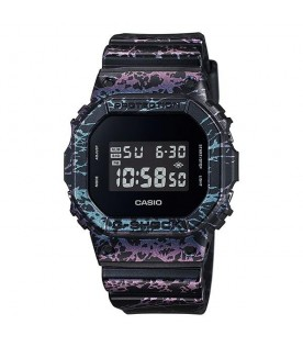 Casio G-Shock DW-5600PM-1D Men Stopwatch Mineral Glass Alarm Resin Strap Watch