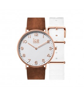 [Original] Ice Watch CHL.A.WHI.41.N.15 Ice City Whitechapel Leather Unisex Watch