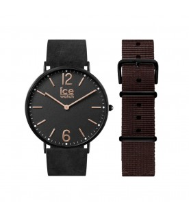 [Original] Ice Watch CHL.B.COT.41.N.15 Ice City Cottage Leather Analog Unisex Watch