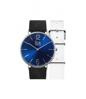 [Original] Ice Watch CHL.B.NOR.36.N.15 Ice City Norwich Leather Blue Watch