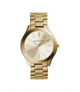 Michael Kors MK3179 Slim Runway Gold Tone Stainless Steel Ladies Watch
