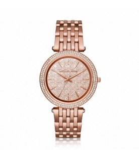 Michael Kors MK3399 Darci Rose Gold Tone Stainless Steel Ladies Watch