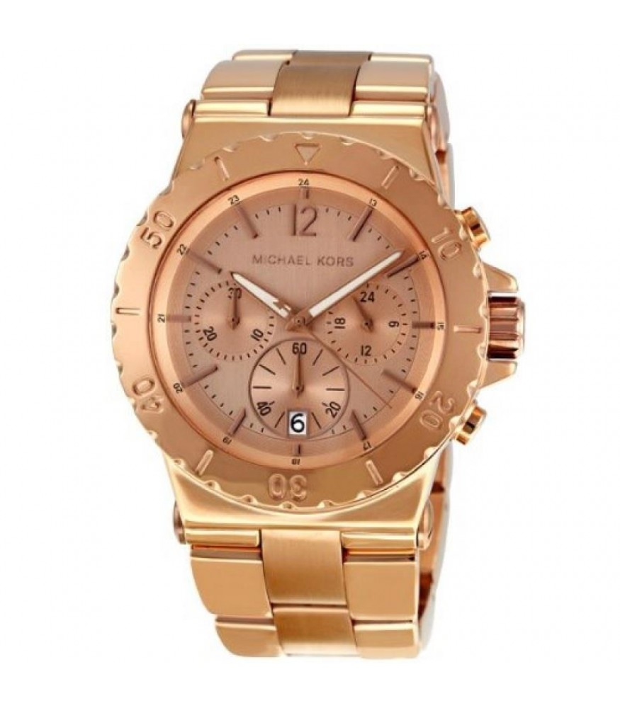 eaa00cb681d Michael Kors MK5314 Dylan Rose Gold Tone Chronograph Ladies Watch