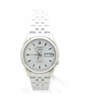 [Original] Seiko 5 SNK355K1 Automatic Stainless Steel Silver Analog Men 21 Jewel Casual Watch