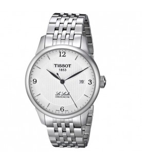 [Original] Tissot T0064081103700 Le Locle Chronometre Silver Dial Stainless Steel MenWatch