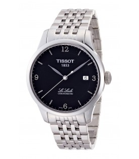 [Original] Tissot T0064081105700 Le Locle Chronometre Black Dial Stainless Steel MenWatch