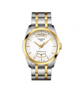 [Original] Tissot T035.407.22.011.01 T-Classic Couturier Powermatic 80 Gold Stainless Steel Watch
