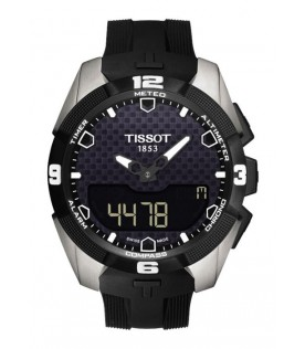 [Original] Tissot T091.420.47.051.00 T-Touch Expert Solar MenAnalog Digital Black Watch
