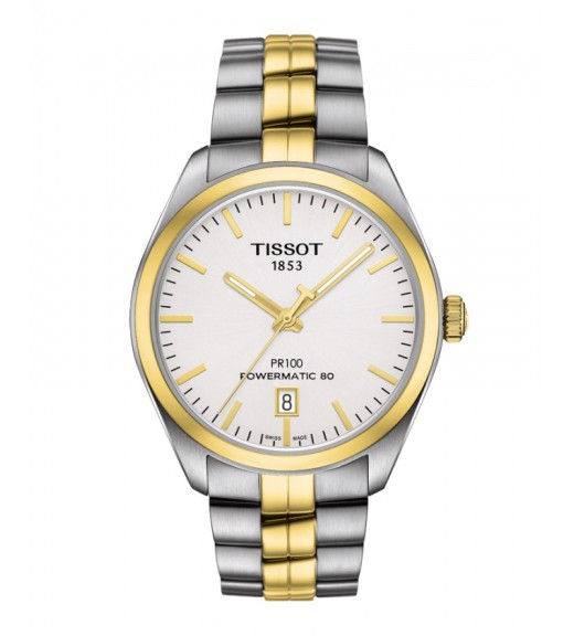 [Original] Tissot T101.407.22.031.00 PR 100 Automatic MenStainless Steel Gold Silver Watch