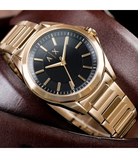 [Original] Armani Exchange AX2619 Stainless Steel Men Gold Watch
