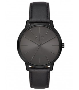 [Original] Armani Exchange AX2705 Black Leather Men Cool Fashion Watch
