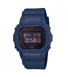 [Original] Casio G-Shock DW-5600BBM-2D Fashionable Monotone Blue Digital Men Watch
