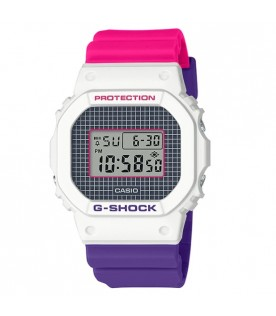 [Original] Casio G-Shock DW-5600THB-7D Geometric Patterns Standard Digital Men Watch