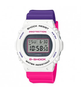 [Original] Casio G-Shock DW-5700THB-7D Geometric Patterns Standard Digital Men Watch