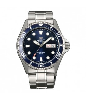 [Original] Orient FAA02005D9 Ray II Automatic Blue Analog Stainless Steel Men Diver Watch