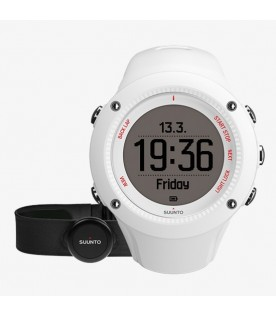 [Original] Suunto SS021259000 AMBIT3 RUN White Heart Rate Mobile Connection GPS Watch