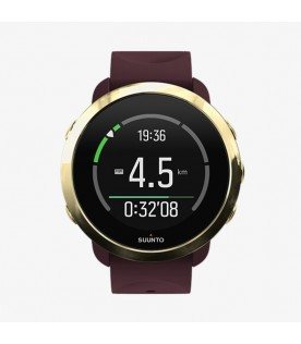 [Original] Suunto SS050054000 3 Robust and Smart Fitness Digital Silicone Watch